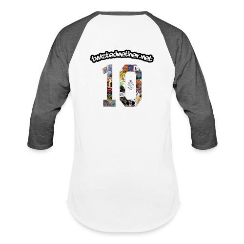 TNB 10th Anniversary Baseball T-Shirt - Baseball T-Shirt