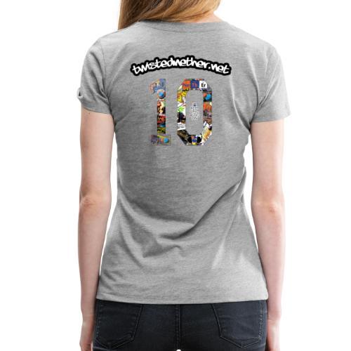 TNB 10th Anniversary T-Shirt - Women's - Women's Premium T-Shirt