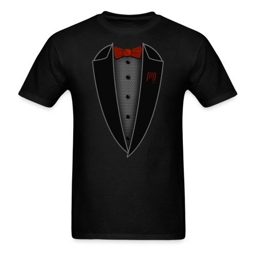 Medieval Mail Tuxedo - Men's T-Shirt