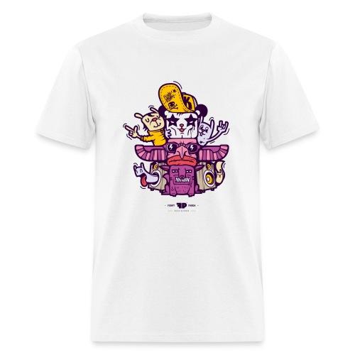 Stardard Funky Panda Totem T-Shirt - Men's T-Shirt