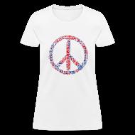 Women's T-Shirts ~ Women's T-Shirt ~ Peace Sign Translated Tee