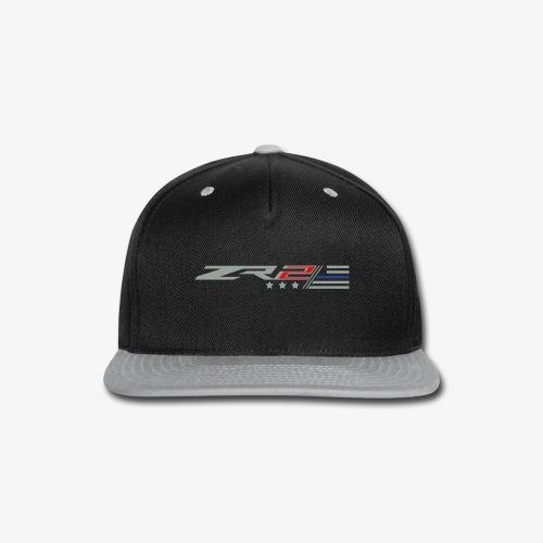 ZR2 Eff Yeah Hat. - Thin Blue Line Edition - Snap-back Baseball Cap