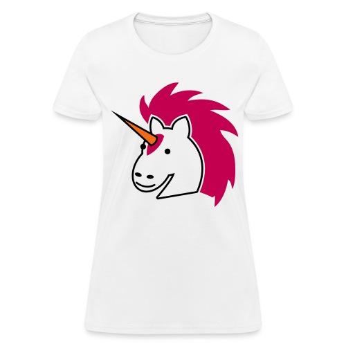 Women's T-Shirt - Unicorn Cute Mystical Magical Forest Fantasy Horse Scene Emo
