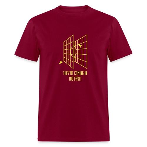 Millennium Falcon Target - Men's T-Shirt