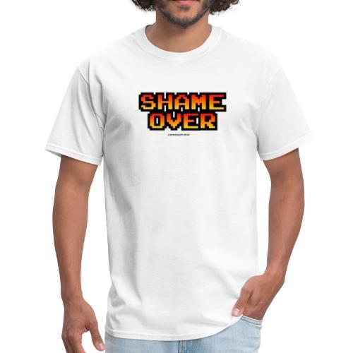 Shame over (retro gradient print) - Men's T-Shirt