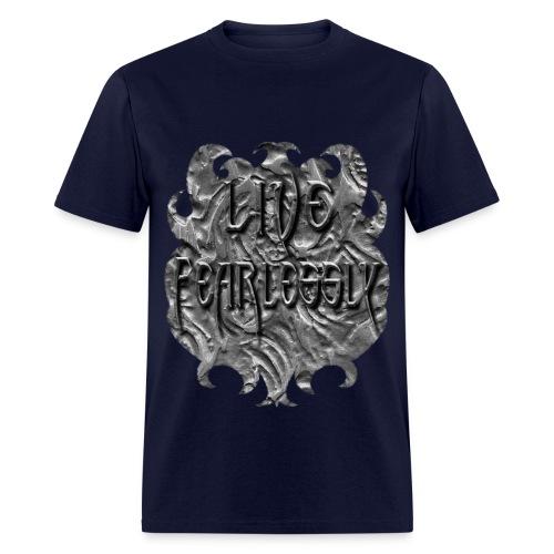 Live Fearlessly Men's T-shirt - Men's T-Shirt