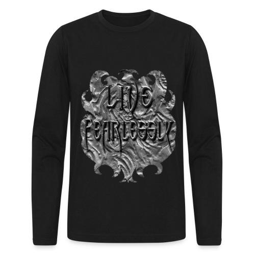 Live Fearlessly Men's Long Sleeve T-shirt - Men's Long Sleeve T-Shirt by Next Level