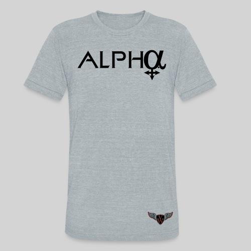 ALPHA Female Triangle T-Shirt - Unisex Tri-Blend T-Shirt