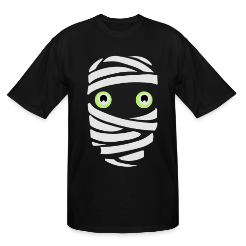 Halloween Mummy Costume T-Shirts Plus Size - Men's Tall T-Shirt