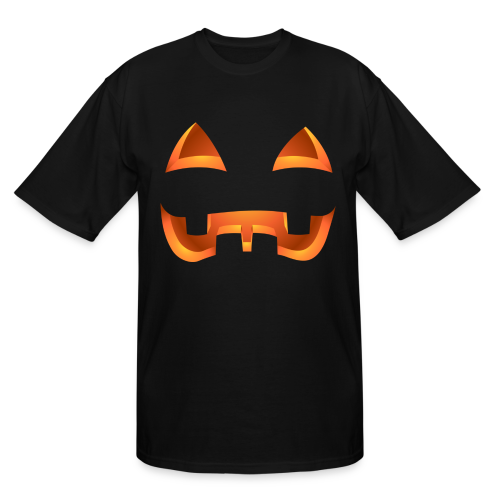 Halloween Pumpkin Costume T-shirts Plus Size  - Men's Tall T-Shirt