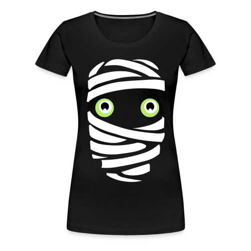 Funny Halloween T-shirt Mummy Shirts Women's Plus Size - Women's Premium T-Shirt