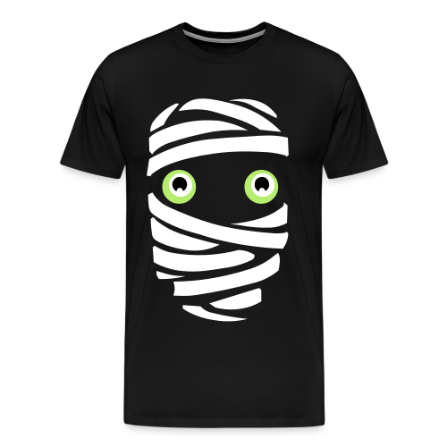 Funny Halloween T-shirt Mummy Shirts Men's Plus Size - Men's Premium T-Shirt