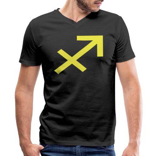 Sagittarius - Men's V-Neck T-Shirt by Canvas