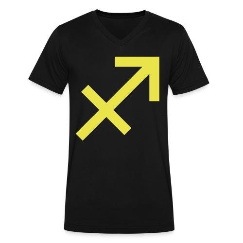 Sagittarius - Men's V-Neck T-Shirt by Canvas
