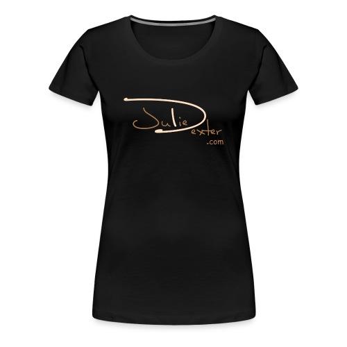 Juliedexter.com Brown Logo - Women's Premium T-Shirt - Women's Premium T-Shirt