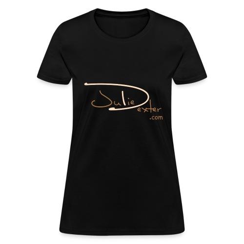 Juliedexter.com Brown Logo - Women's T-Shirt - Women's T-Shirt
