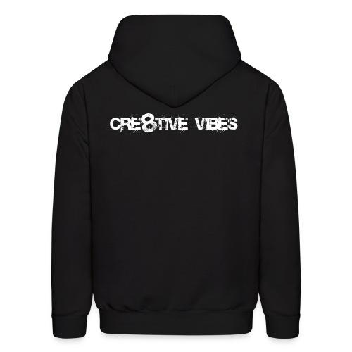 Cre8tive Vibes - Pull over Hoodie - Men's Hoodie