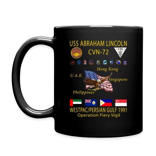 USS ABRAHAM LINCOLN WESTPAC 91 MUG - Full Color Mug