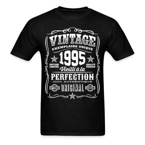 Vintage 1995 Cadeau Anniversaire 23 Ans - Men's T-Shirt