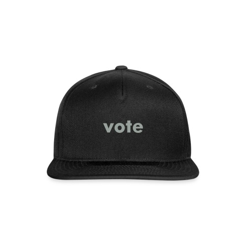 Snap-back vote Baseball Cap - Snap-back Baseball Cap