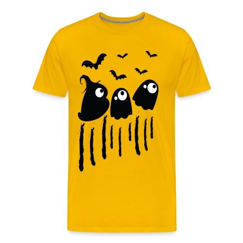 BOO Halloween Men's Premium T-Shirt - Men's Premium T-Shirt