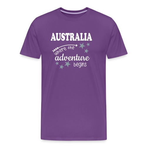 Australia Adventure - Men's Premium T-Shirt