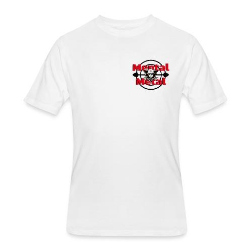 New! Mental Metal Tee - Men's 50/50 T-Shirt