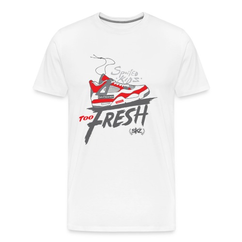 SKZ Red Fresh Sneakers  - Men's Premium T-Shirt