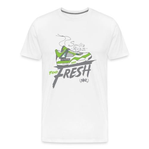 SKZ Green Fresh Sneakers  - Men's Premium T-Shirt