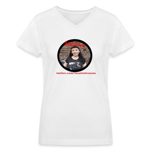 Scarlett Venom Gjoa shirt - Women's V-Neck T-Shirt
