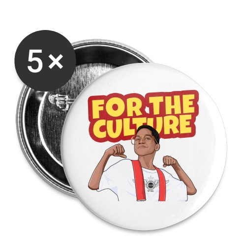For The Culture Button - Small Buttons