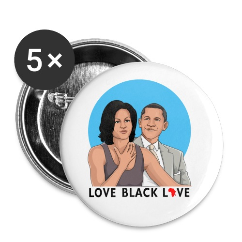 Love Black Love Button - Small Buttons