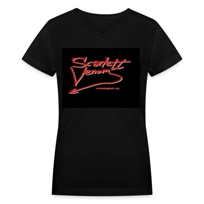Scarlett Venom Logo Tee