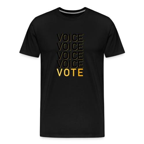 Voice - Men's Premium T-Shirt