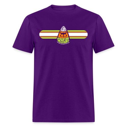 Candy Corn Shirt - Purple - Men's T-Shirt