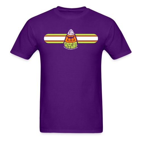 Candy Corn Shirt - Purple - Men's T-Shirt