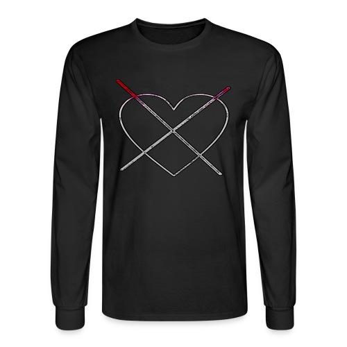 Bloody Deadheart Longsleeve - Men's Long Sleeve T-Shirt