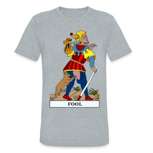 Fool - Gray Tri-blend - Unisex Tri-Blend T-Shirt