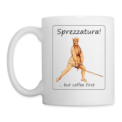 Sprezzatura mug - Coffee/Tea Mug