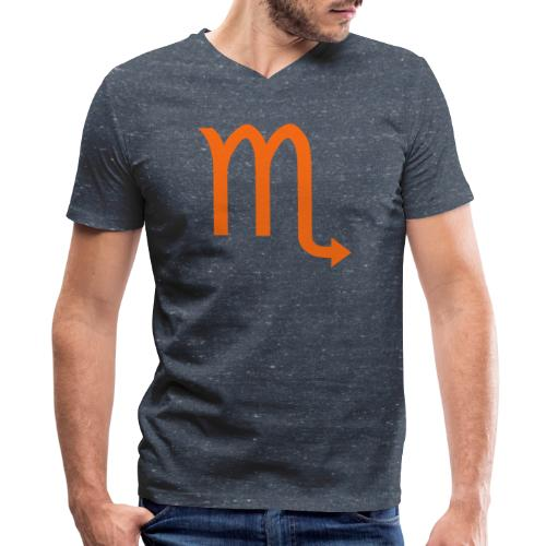 Scorpio - Men's V-Neck T-Shirt by Canvas
