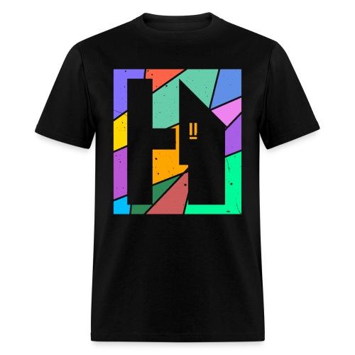 Halfway Home - Pastel Logo - Men's T-Shirt