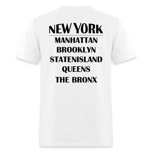 Boroughs of New York City - Men's T-Shirt