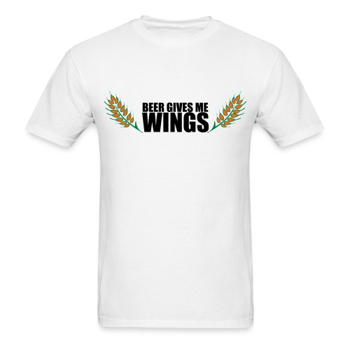 BEER GIVES ME WINGS - Men's T-Shirt