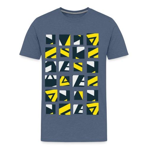 Geometric art Men's Premium T-Shirt - Men's Premium T-Shirt