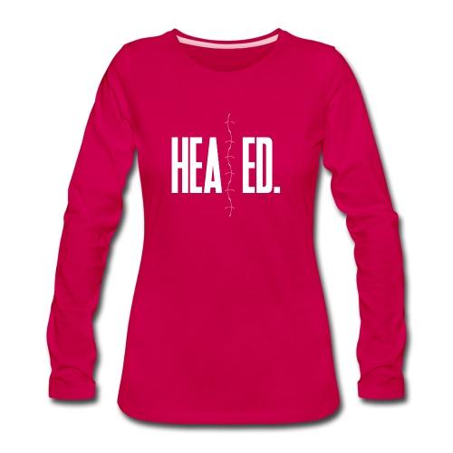 Healed Long Sleeved Tee (Women) - Women's Premium Long Sleeve T-Shirt