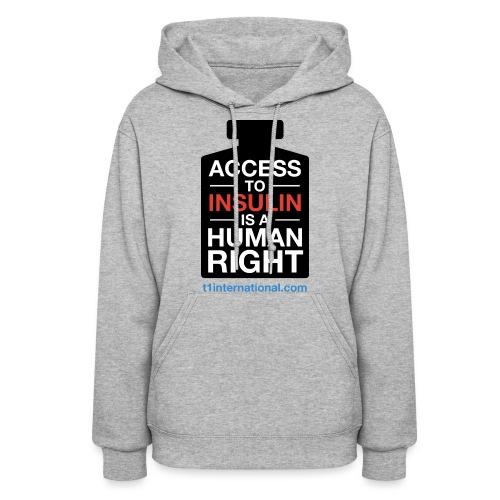 Women's Access to Insulin hoodie - Women's Hoodie