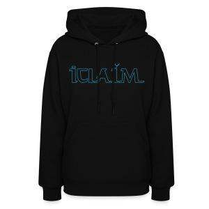 ICLAIM Women's Hooded Sweatshirt ( - Women's Hoodie