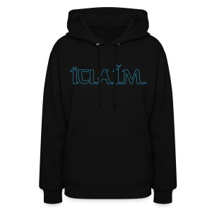 ICLAIM Women's Hooded Sweatshirt ( - Women's Hoodie