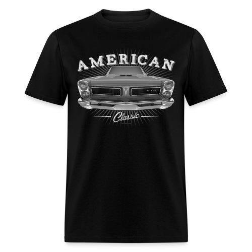 Classic Pontiac Pontiac GTO 67 T-Shirt | Black Grey - Men's T-Shirt