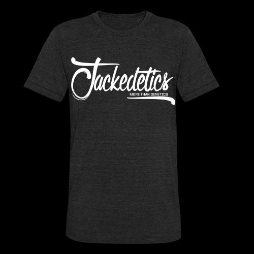 Jackedetics Cursive T - Unisex Tri-Blend T-Shirt